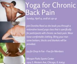 Yoga for Chronic Back Pain